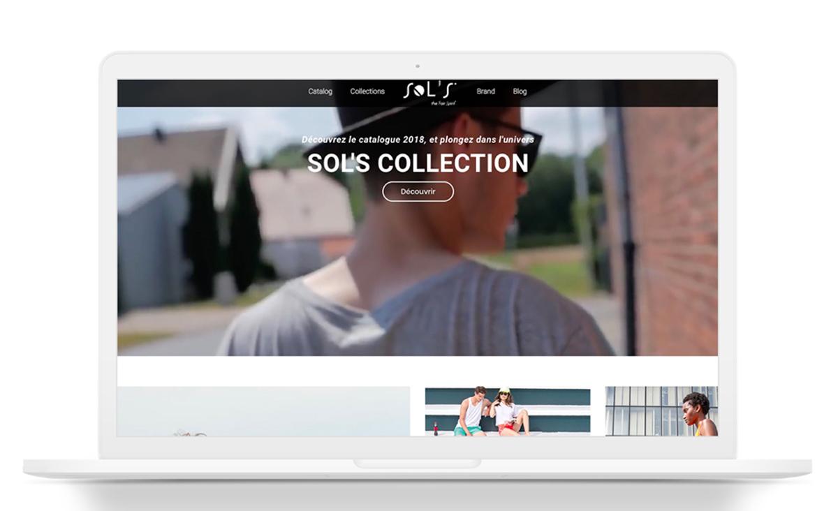 Sols site internet