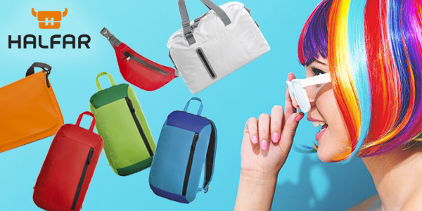 La société Cybernecard propose la nouvelle gamme de mini-sacs à dos de le marque Halfar
