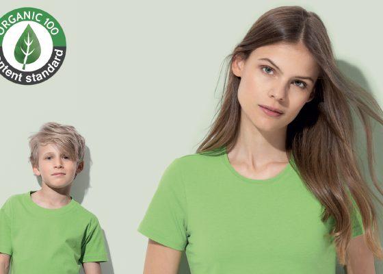 Stedman renforce sa gamme de t-shirts biologiques