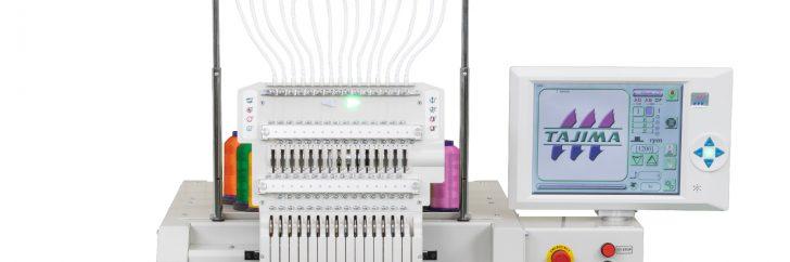 La nouvelle machine TMEZ-SC de Tajima automatise le réglage de la tension du fil.