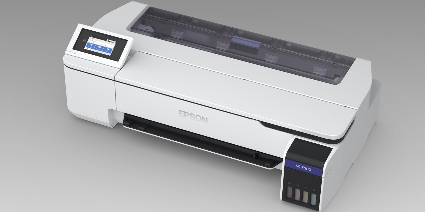 La machine SureColor SC-F500 du constructeur Epson ouvre la voie à l'impression par sublimation au format 24 pouces.