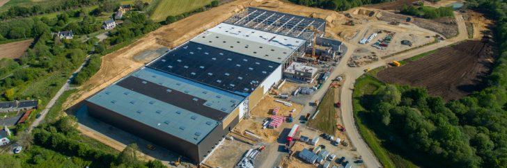 Imbretex investit 19 millions d'euros dans la construction d'un nouvel entrepôt.