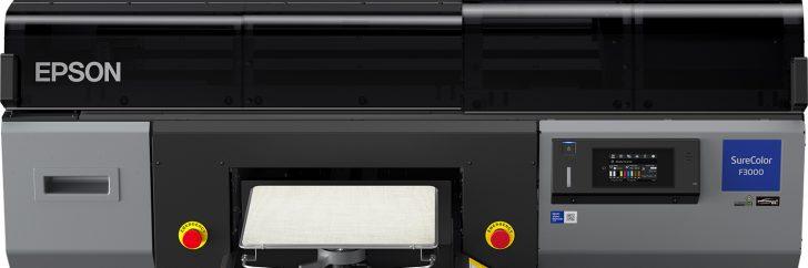 Epson lance sa nouvelle machine d'impression numérique directe SureColor F-3000.