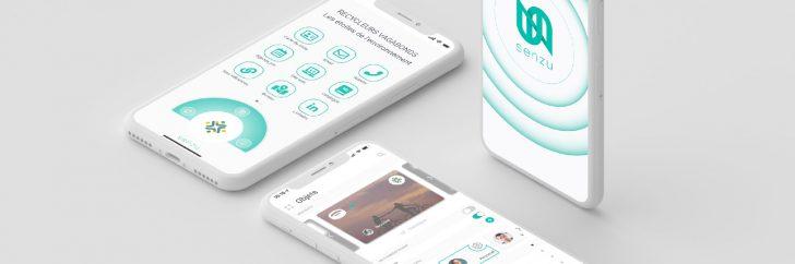 Senzu connecte les objets et textiles publicitaires.