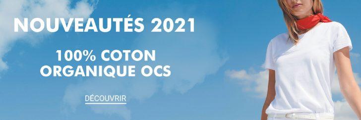 En 2021, toutes les nouveautés de SOLO Group sont confectionnées à partir de coton organique ou de polyester recyclé.