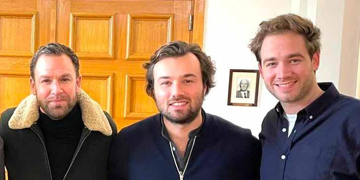 De gauche à droite : Benjamin Stetten-Pigasse, Charles-Henri Carton et Aurélien Chiquet, associés du groupe Affective.