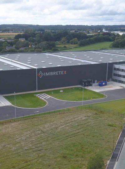 Avec son nouvel entrepôt, Imbretex est entré dans une nouvelle dimension.